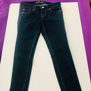 Express Women's Skinny midrise skinny jeans size 0